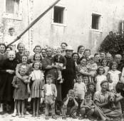 Contrada Busa – abitanti (anno 1953 ca.)