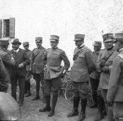 L'onorevole Ubaldo Comandini ed il generale Ugo Sani (XIII C.d.A.)